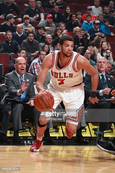 News Photo : Michael Carter-Williams of the Chicago Bulls...