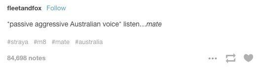 """Fucksakes"" - Ancient Australian proverb. <<<as an Australian I can confirm it"