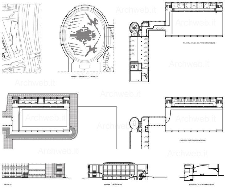 Accademia di scherma (aka Casa delle Armi) al Foro Italico, Roma IT (1936)   Luigi Moretti
