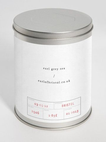 Concept Packaging: Earl /Grey - The Dieline: The World's #1 Package Design Website -