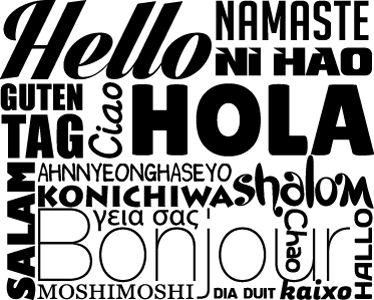 Willkommen, Hallo, Welcome, Hi