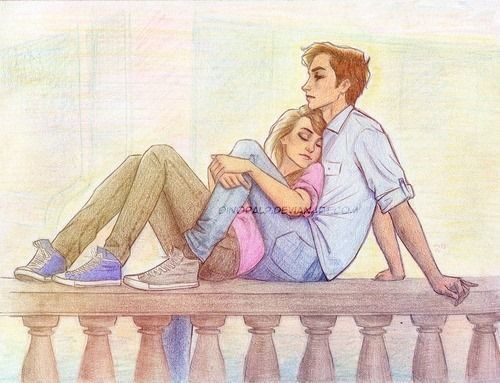 Couple drawing by dinora dinoralp.deviantart.com<<how I see the current scene you guys are doing tbh
