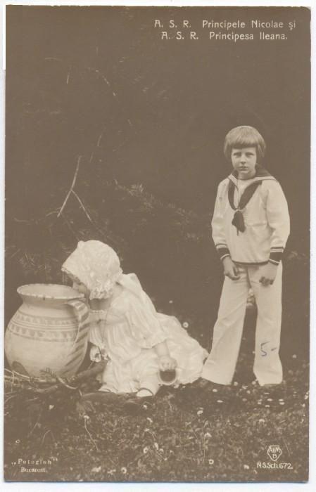 Principele Nicolae ( Nicky) şi Principesa Ileana.