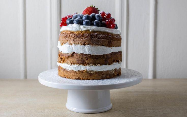 Erster Geburtstag Honey Oat Smash Cake mit Joghurt-Zuckerguss   – Karis first bday