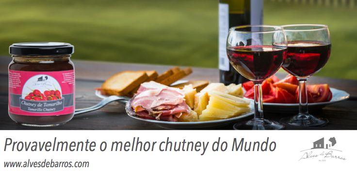 Provavelmente o melhor chutney do Mundo #madeira #tamarilho #chutney www.alvesdebarros.com