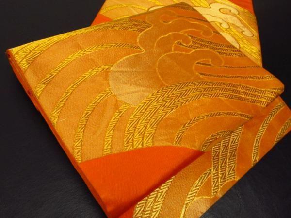 絹 波 袋帯