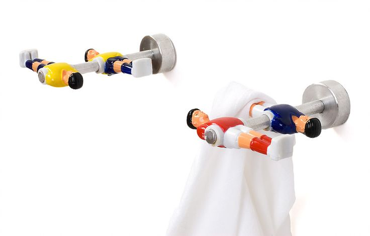 Junktion Design, Soccer player hangers