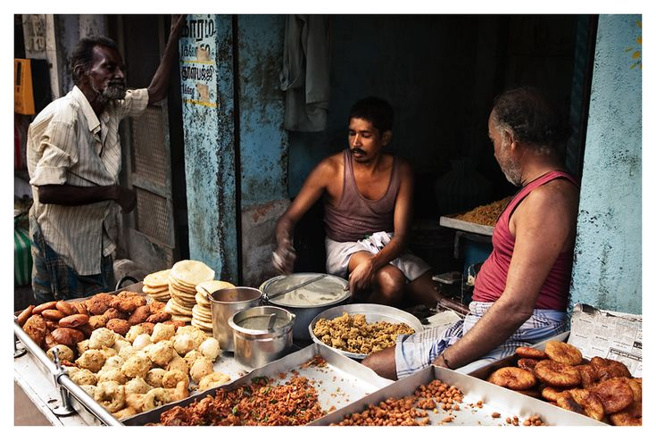 Tiffin time - Madurai, Tamil Nadu