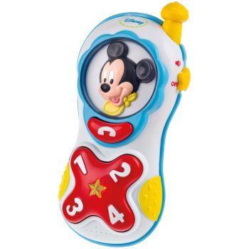 Jucarie interactiva Baby Clementoni Telefon Mikey Mouse