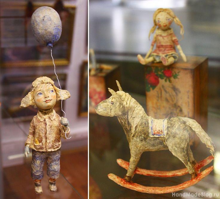Куклы из папье-маше