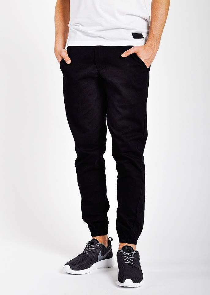 Unique Converse Coated Zipper Jogger Pants In Black  Lyst