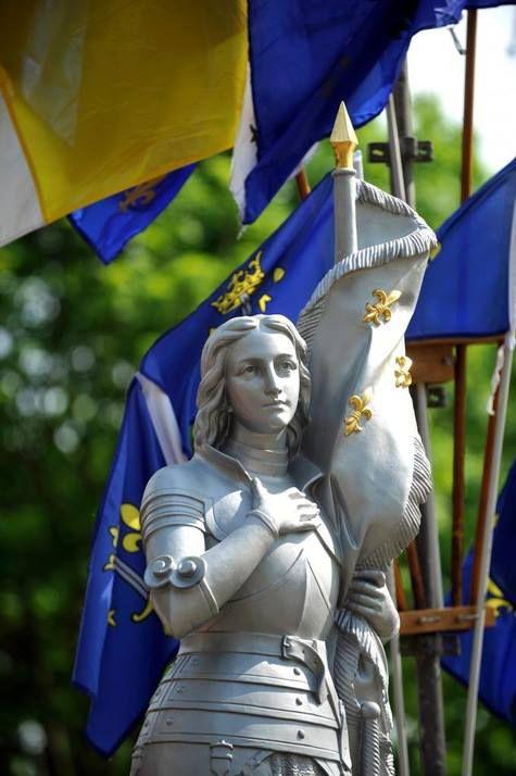 St Joan of Arc | www.saintnook.com/saints/joanofarc | Ste Jeanne d'Arc