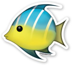 Tropical Fish | Emoji Stickers