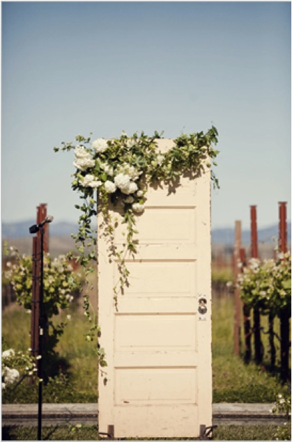 Dooralter with flowers Wedding Decorations Pinterest  : 8e4c9415834d017dc85572a086e77efe wedding backdrops wedding decorations from pinterest.com size 419 x 635 jpeg 85kB