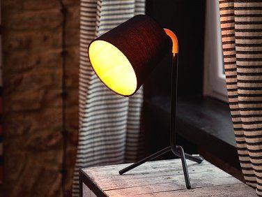 Tafellamp zwart - tafellicht - bedlamp - leeslamp - verlichting - MOOKI