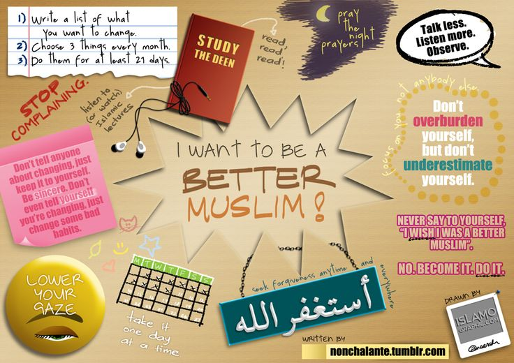 I want to be a better Muslim!