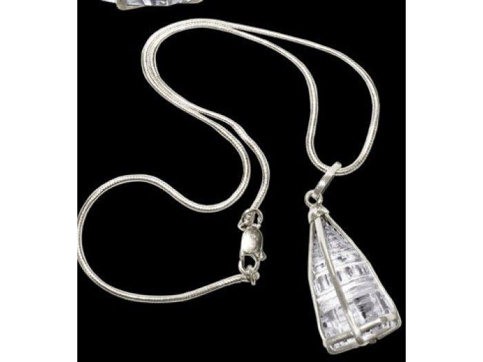 Crystal Shree yantra locket,Buy Crystal Shree yantra locket Online From India.