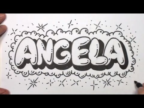 Super Good Video On Explaining How To Draw Bubble Lettering Video