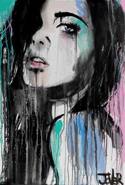 "Saatchi Art Artist Loui Jover; Painting, ""forever far away"" #art"