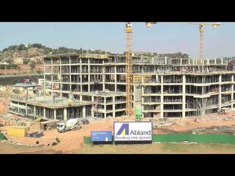 Nedbank Lakeview fully developed in 35 seconds -  Timelapse Video