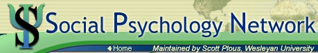 Great resources and links about all things social psyc (and other fields of psyc, too).