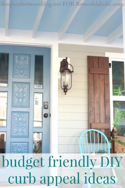 budget friendly curb appeal ideas front porches front