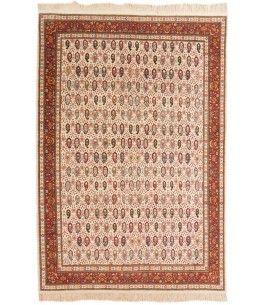 Mir Teppich Dieser Schöne Mir Teppich 00013020 Stammt Aus Indien Und Hat  Die Farbe Beige, Rot. Der Teppich Ist Aus Hochwertigem Material Wolle  Gefertigt Und ...