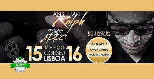 Amazing WooW: Desconto Bilhete Anselmo Ralph no Coliseu de Lisbo...