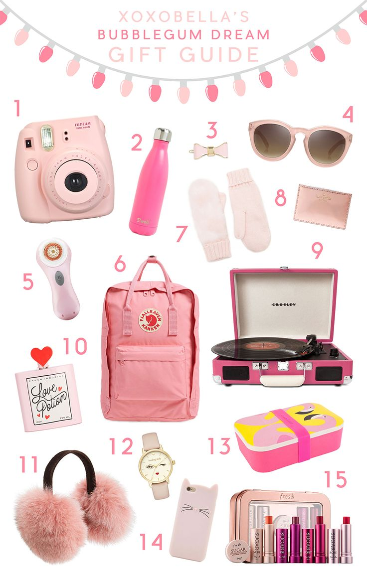 The theme for this gift guide is Bubblegum Dream...all things pretty and pink! With the pretty blush pinks and coral pinks, I am converted to a pink lover!