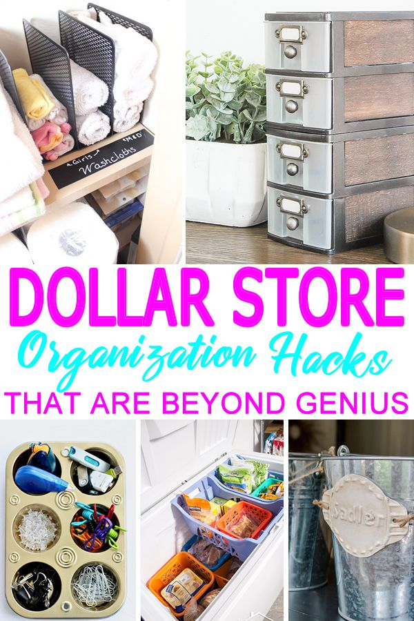 Dollar Store Hacks Easy Simple Organization Storage Hacks Using Dollar Store Products The Be Dollar Store Hacks Dollar Store Diy Bedroom Organization Diy