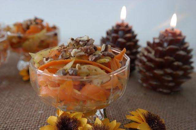 Sunflower - w wolnej chwili...: Surówka gruszkowo-marchewkowa