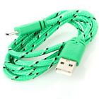 1M Green Mirco USB Charger Data Sync Cable for Samsung Galaxy S3 S4 S6 note 4 2