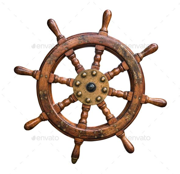 Isolated Ships Wheel Ship Wheel Ship Wheel Decor Ship Wheel Tattoo