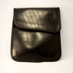 Upcycled Rubber Tire iPad Case