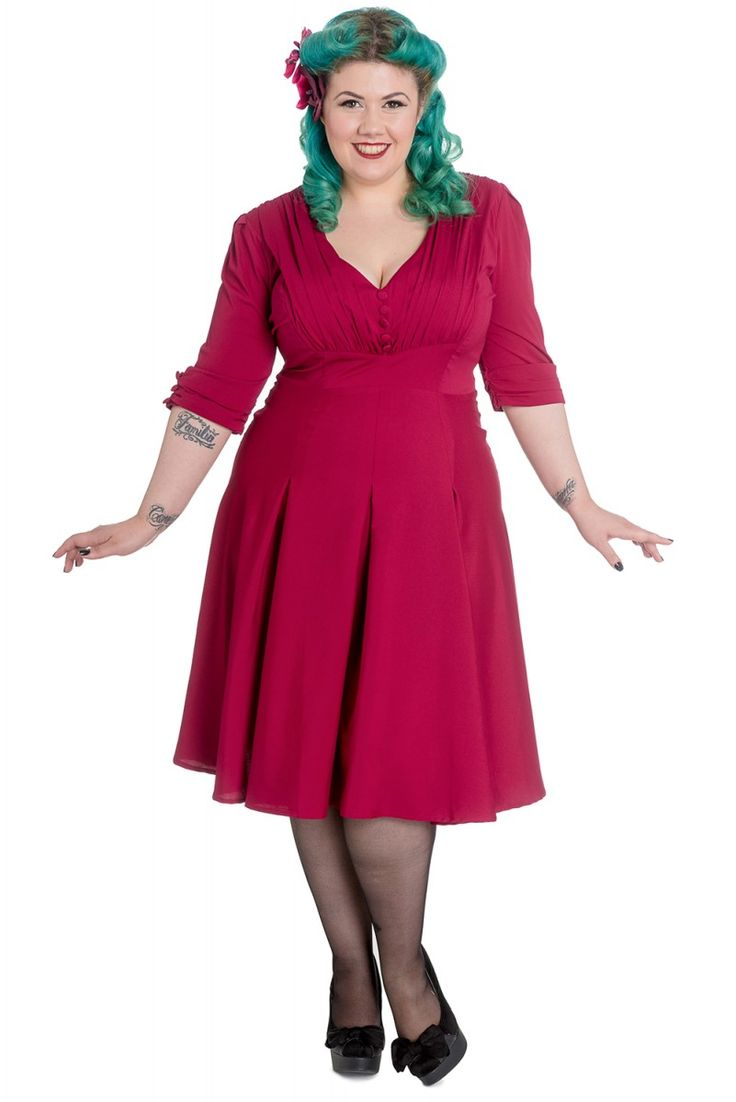 Forties style dresses plus size