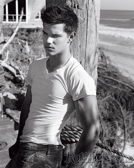 Taylor Lautner - Sexy - Abs - Actor - Twilight - New Moon - Wolf - Teen