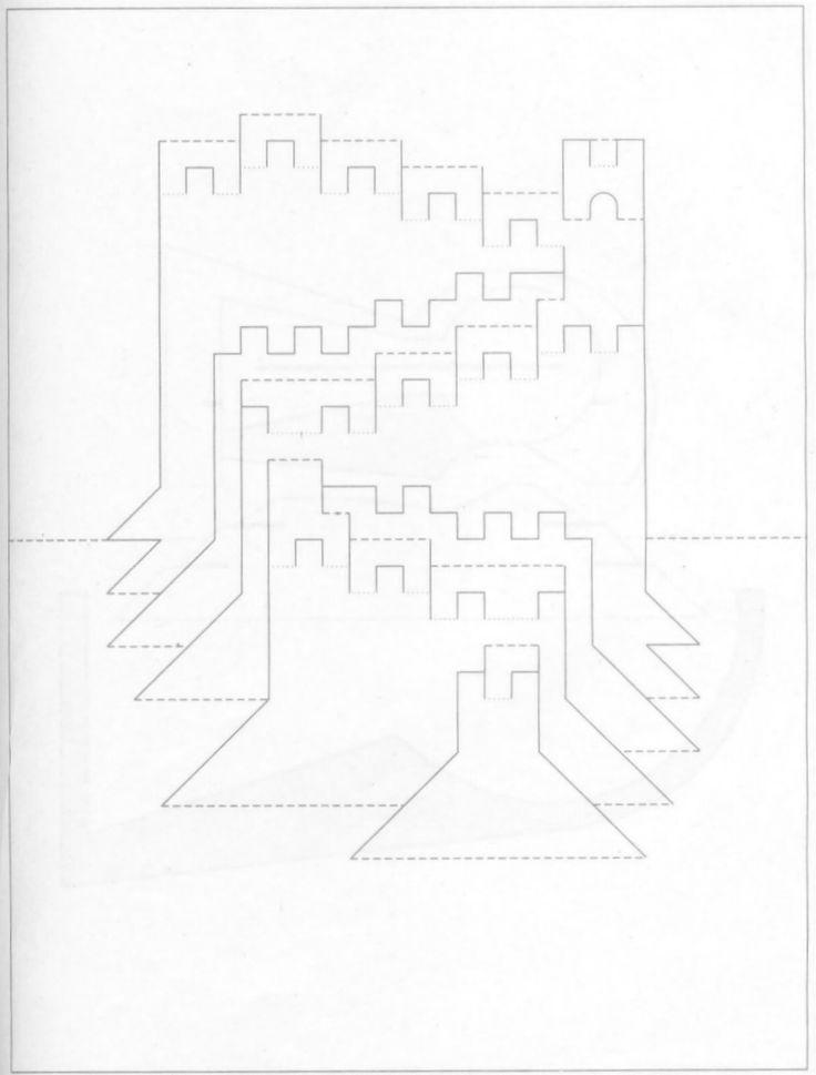 Объемные открытки пошаговая схемы