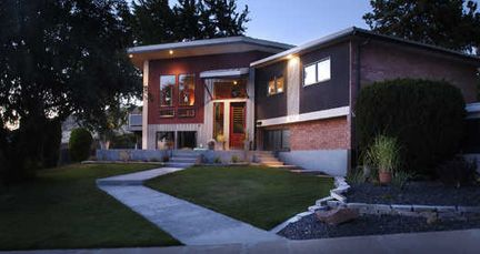 18 Best Images About Bi Level Exterior Makeover On Pinterest Ranch Homes Exterior Porticos