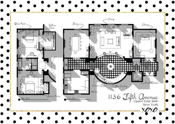 Gossip Girl Apartment Floor Plan