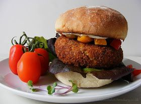 Red Kidney Bean Burger