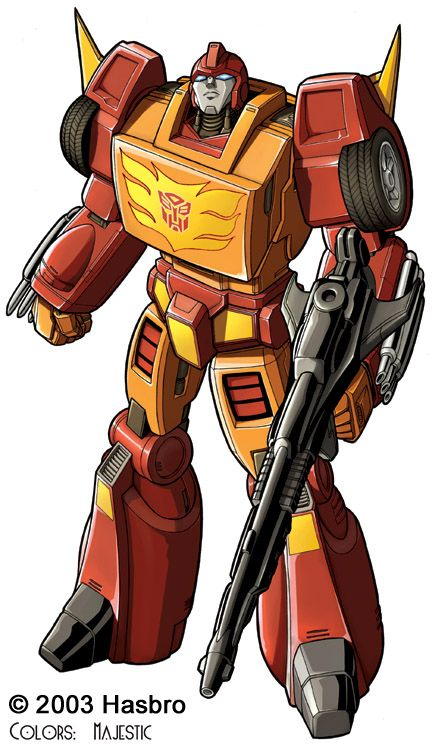 Rodimus Prime - Say what you want about him not being Optimus, but he did use the Matrix to bring down Unicron. CRED!