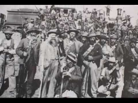 Sarie Marais (in Afrikaans) with images of the Boer War. - YouTube