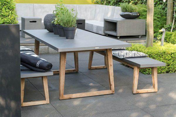 Beton Esstisch Linea Gartentisch Gartentisch Holz Esszimmertisch Holz