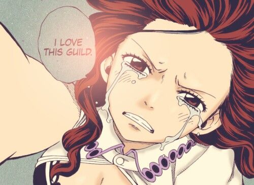 Fairy Tail /Cana . I used to not like Cana, thought she was just a drunk, but since the Tinrojima incident I quite like her. but I do think she should appriciate her daddy's affection a bit more; he did miss her whole life until now.