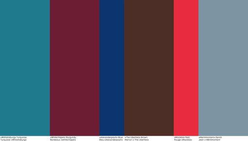 "Nelly Rodi - ""East side"" - Tendance couleur SS2017 - Tendances (#716463)"