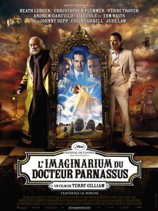 L'Imaginarium du Docteur Parnassus : affiche Terry Gilliam