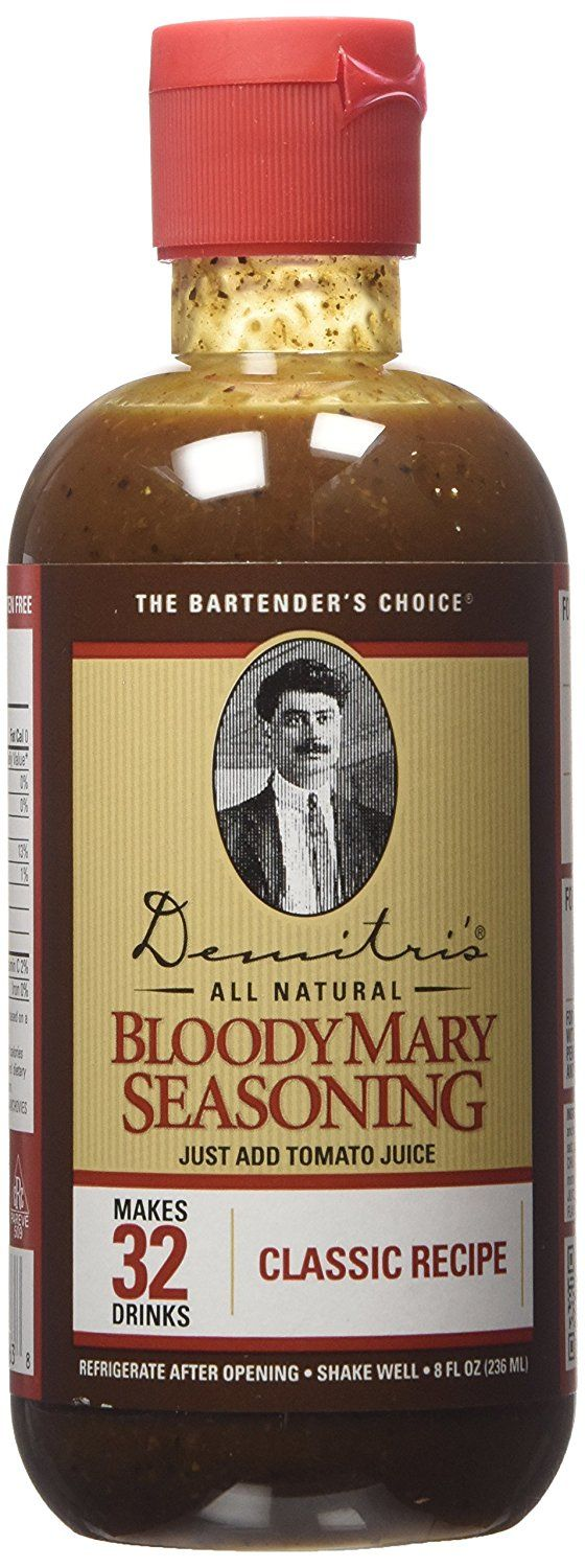 Demitri's Bloody Mary Seasoning Classic Recipe (Single Bottle) 8oz -- Read more reviews of the product by visiting the link on the image.