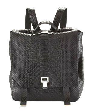 Proenza Schouler Python backpack