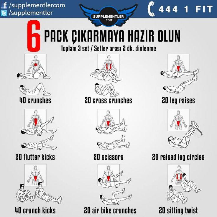 Yaz Geldi Gelecek Haydi Six Pack' leri Görelim!  #fitness