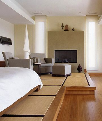 create a unified master suite tatami bedtatami